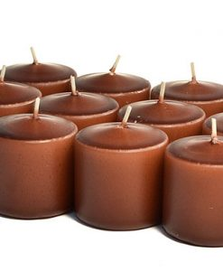 Brown Votives 10 Hour - Unscented