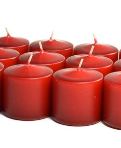 Burgundy Votives 15 Hour - Unscented
