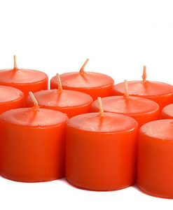 Burnt Orange Votives 15 Hour - Unscented