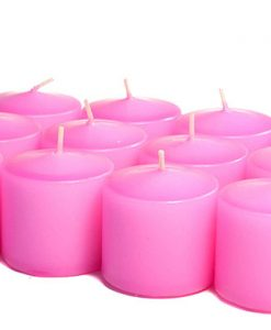 Hot Pink Votives 15 Hour - Unscented