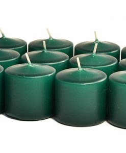 Hunter Green Votives 10 Hour - Unscented