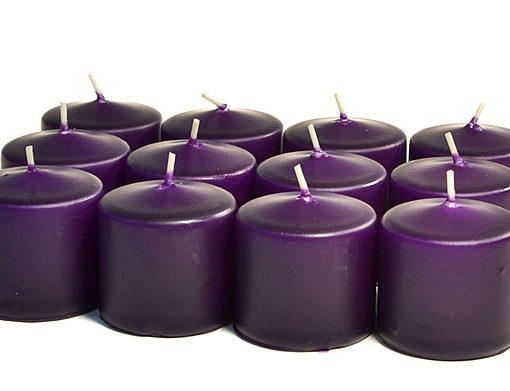 Lilac Votives 10 Hour – Unscented