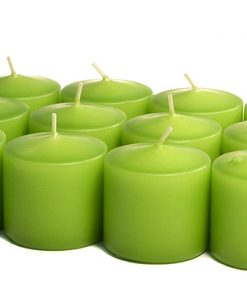 Lime Green Votives 10 Hour - Unscented