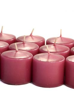 Mauve Votives 15 Hour - Unscented