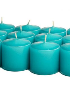 Mediterranean Blue Votives 15 Hour - Unscented