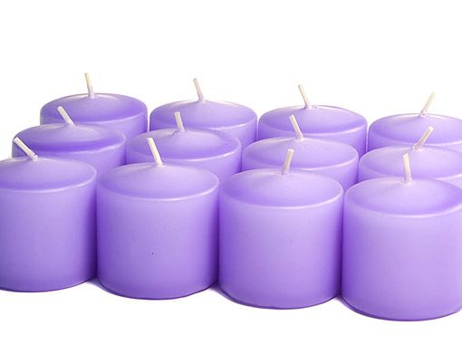 Orchid Votives 10 Hour – Unscented