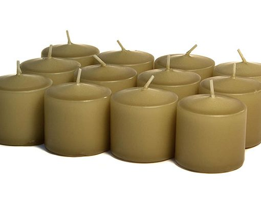 Parchment Votives 15 Hour - Unscented