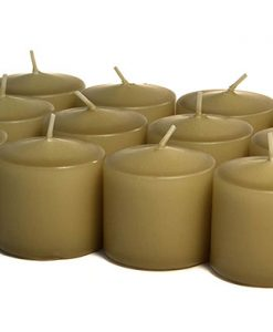 Parchment Votives 10 Hour - Unscented