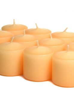 Peach Votives 10 Hour - Unscented