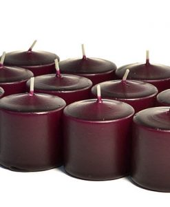 Plum Votives 15 Hour - Unscented