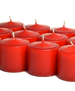 Red Votives 15 Hour - Unscented