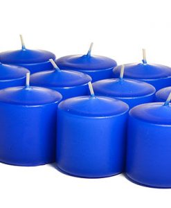 Royal Blue Votives 15 Hour - Unscented