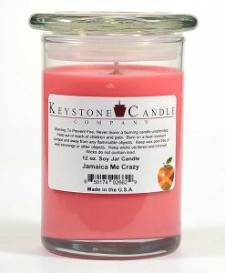 12 oz Jamaica Me Crazy Soy Jar Candles