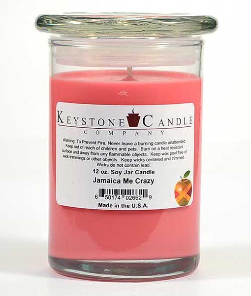 12 oz Jamaica Me Crazy Soy Jar Candles