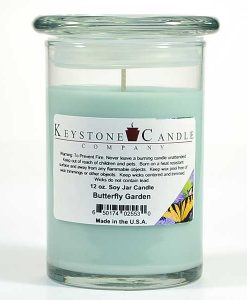 12 oz Butterfly Garden Soy Jar Candles