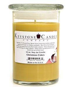 12 oz Christmas Cakes Soy Jar Candles