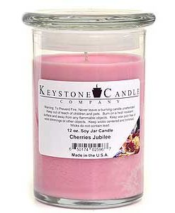 12 oz Cherries Jubilee Soy Jar Candles
