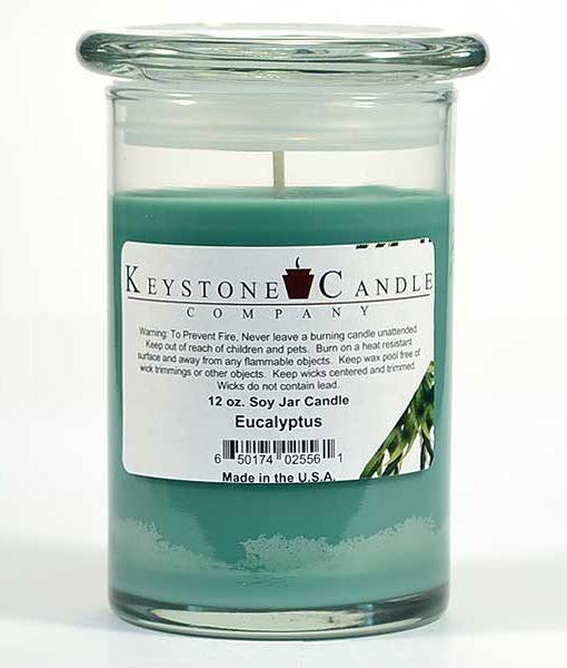 12 oz Eucalyptus Soy Jar Candles