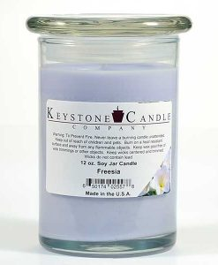 12 oz Freesia Soy Jar Candles