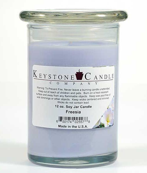 12 oz Freesia Soy Jar Candles