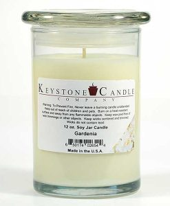 12 oz Gardenia Soy Jar Candles
