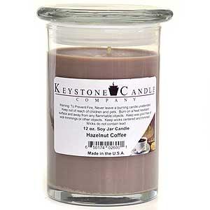 12 oz Hazelnut Coffee Soy Jar Candles