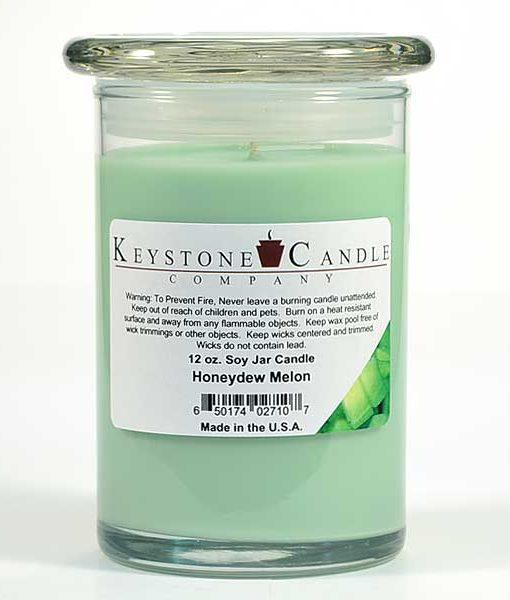 12 oz Honeydew Melon Soy Jar Candles