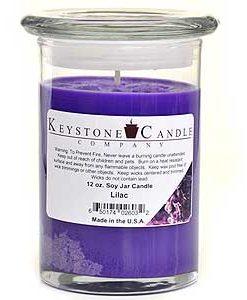 12 oz Lilac Soy Jar Candles