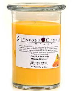 12 oz Mango Spritzer Soy Jar Candles