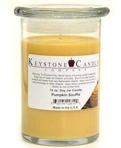 12 oz Pumpkin Souffle Soy Jar Candles