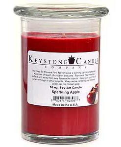 12 oz Sparkling Apple Soy Jar Candles