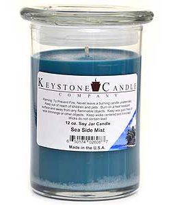 12 oz Sea Side Mist Soy Jar Candles