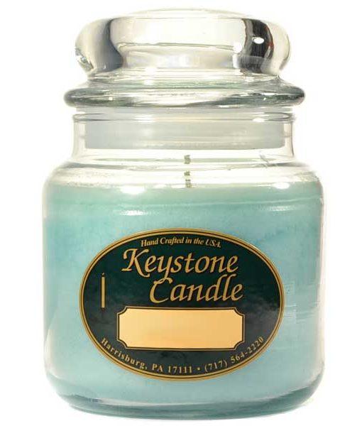 16 oz Blue Lagoon Jar Candles