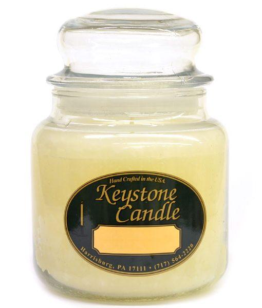 16 oz Suntan Lotion Jar Candles