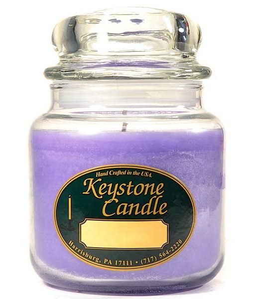 16 oz Lemon and Lavender Jar Candles