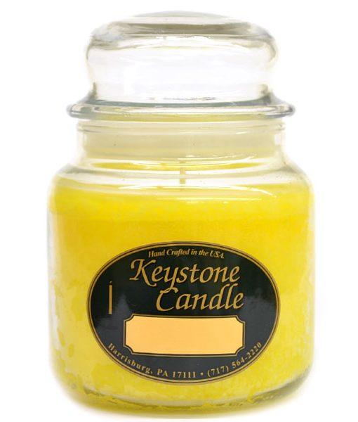 16 oz Tropical Pineapple Jar Candles