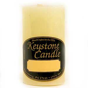 French Butter Cream 2 x 3 Pillar Candles