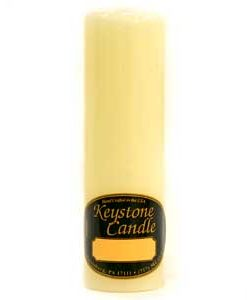 French Butter Cream 2 x 6 Pillar Candles