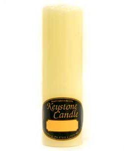 French Vanilla 2 x 6 Pillar Candles