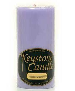 Lemon Lavender 3 x 6 Pillar Candles