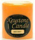 Orange Twist 4 x 4 Pillar Candles
