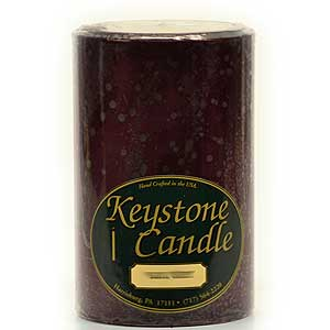 Black Cherry 4 x 6 Pillar Candles