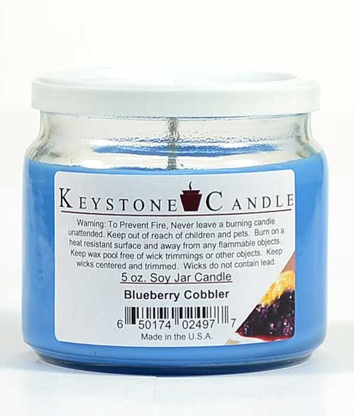 5 oz Blueberry Cobbler Soy Jar Candles
