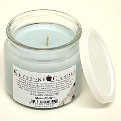 5 oz Clean Cotton Soy Jar Candles