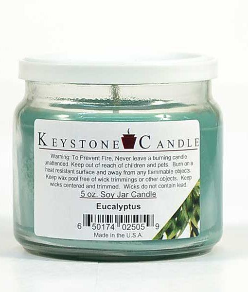 5 oz Eucalyptus Soy Jar Candles
