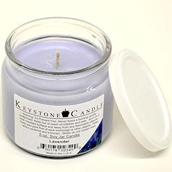 5 oz Lavender Soy Jar Candles