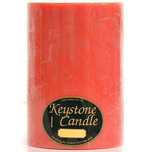 Juicy Peach 6 x 9 Pillar Candles