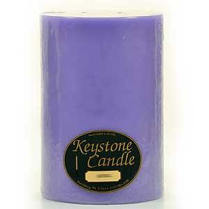 Lavender 6 x 9 Pillar Candles