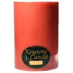 Amber Oud Wood 6×9 Pillar Candles