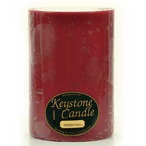 Raspberry Cream 6 x 9 Pillar Candles